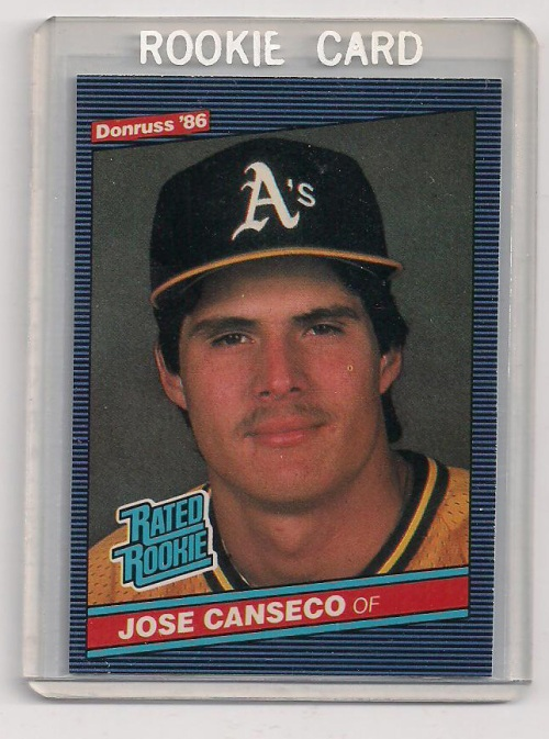 Ah, young Jose.  So much roid-fueled potential, and I'm not just talking about that sweet proto-stache.