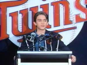 Twins Manager Billy Heywood Introduces Himself to the Media
