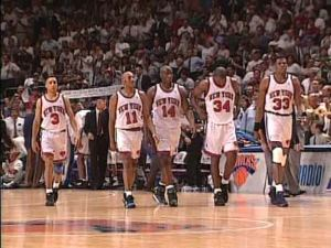 The Battling Knicks 1994 Starting Five